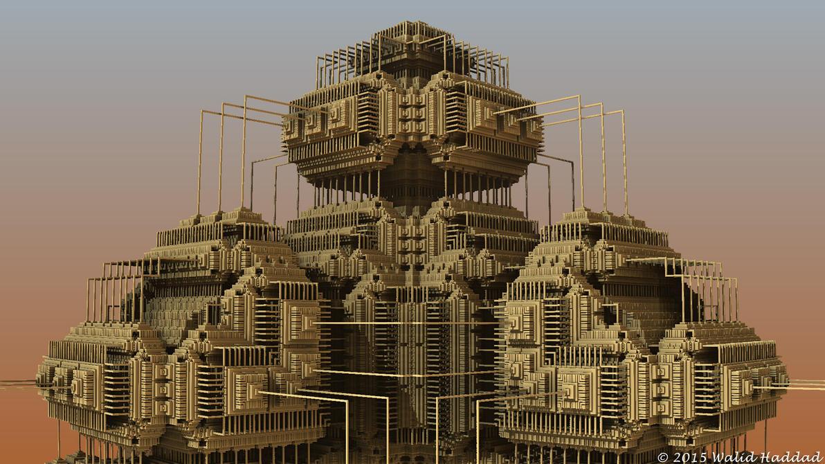 Fractal 3D 130 by whaddad
