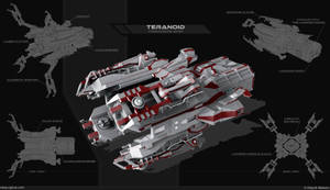 teranoid - troopers ship by Obey-art