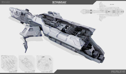 Stingray - destroyer by Obey-art