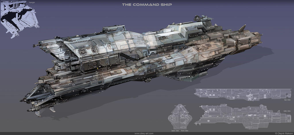 the_command_ship_by_obey_art d5uvt4f the command ship by obey art on deviantart Sci-Fi Women at bayanpartner.co