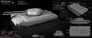 Springmaus - tank concept