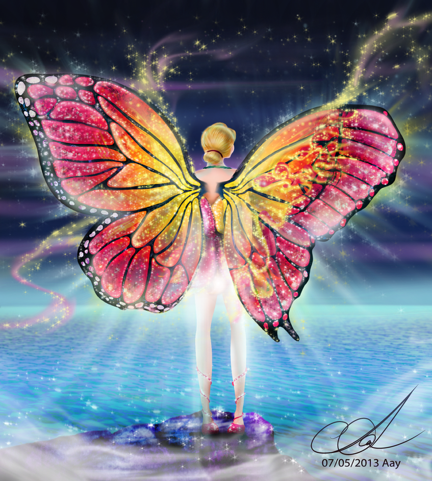 Top Wallpaper Butterfly Barbie - mariposa_and_wings_of_transformation_by_aayov-d6w26v5  You Should Have_539760.png