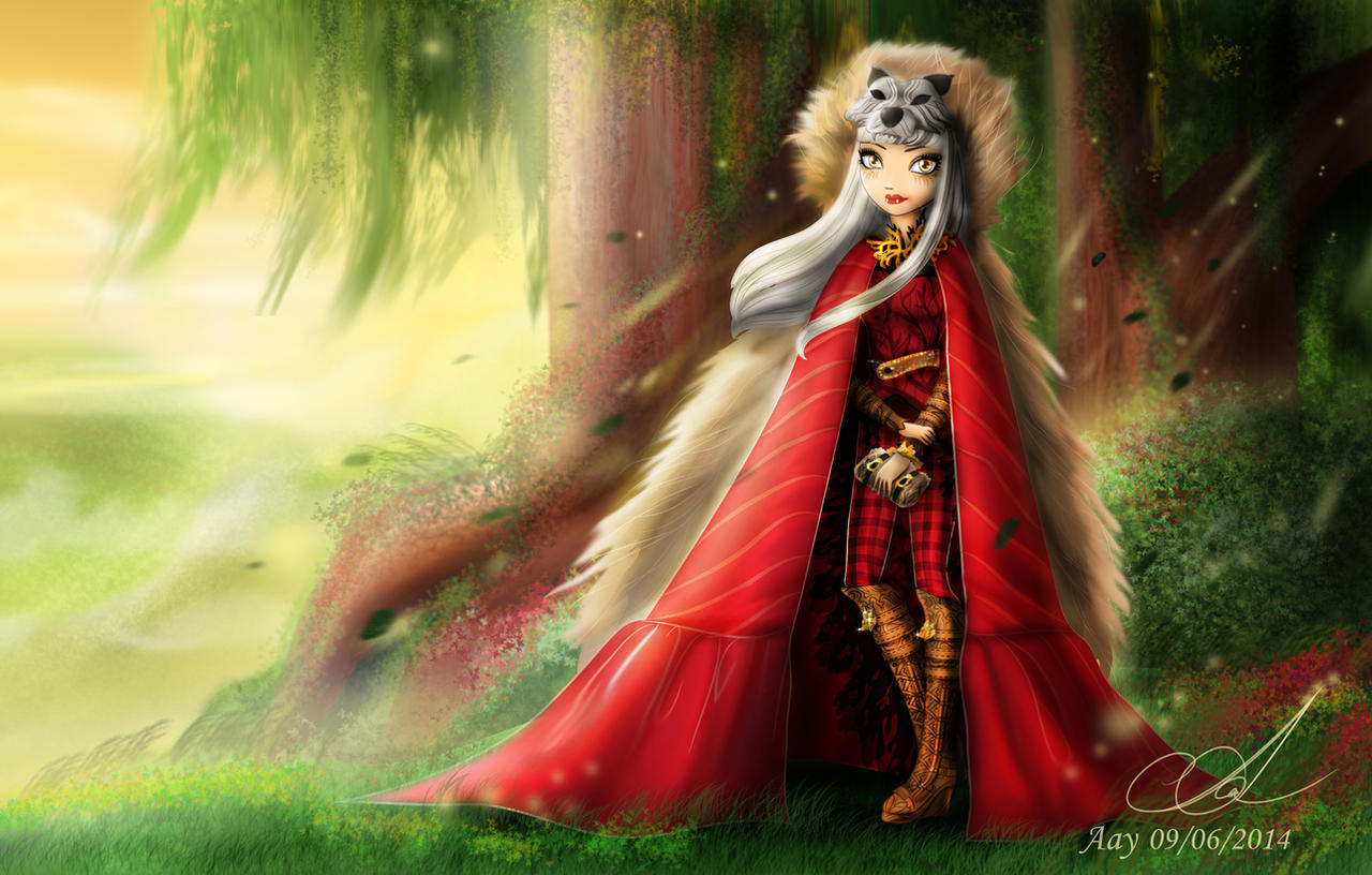 Cerise Wolf- Ever After high by Aayov on DeviantArt