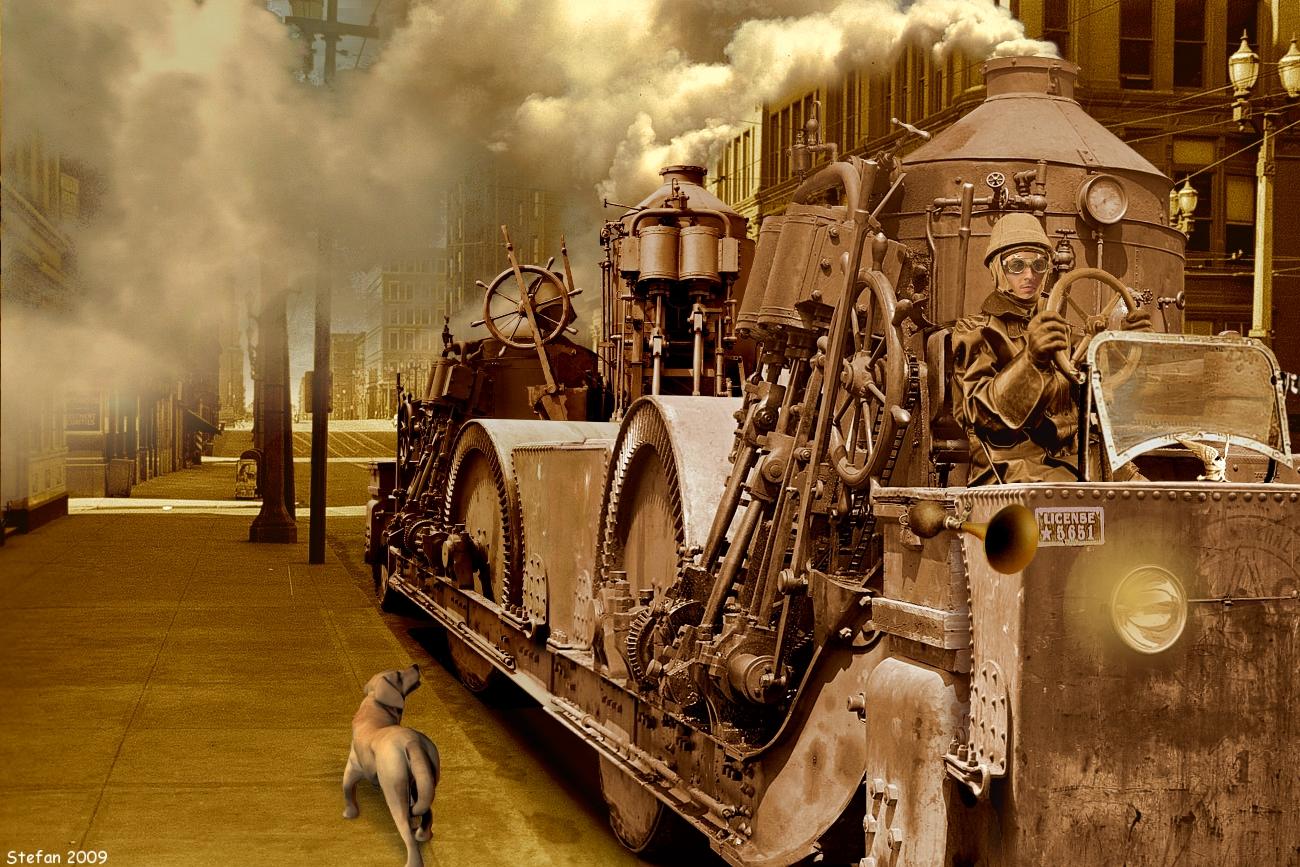 Steampunk by stefanparis
