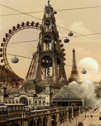 Paris Aerial by stefanparis