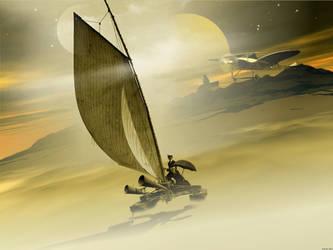 Voyages Extraordinaires - Cloud Rider by stefanparis