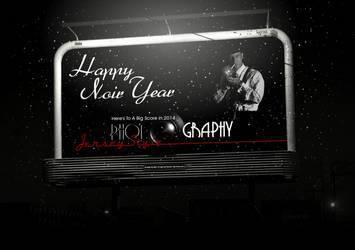 Happy Noir Year by stefanparis