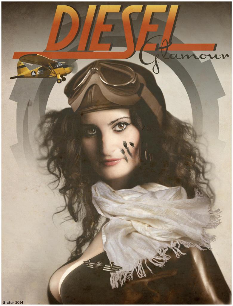 Dieselpunk Madonna by stefanparis