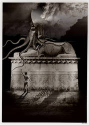 Evil God - Tribute to Frantisek Kupka by stefanparis