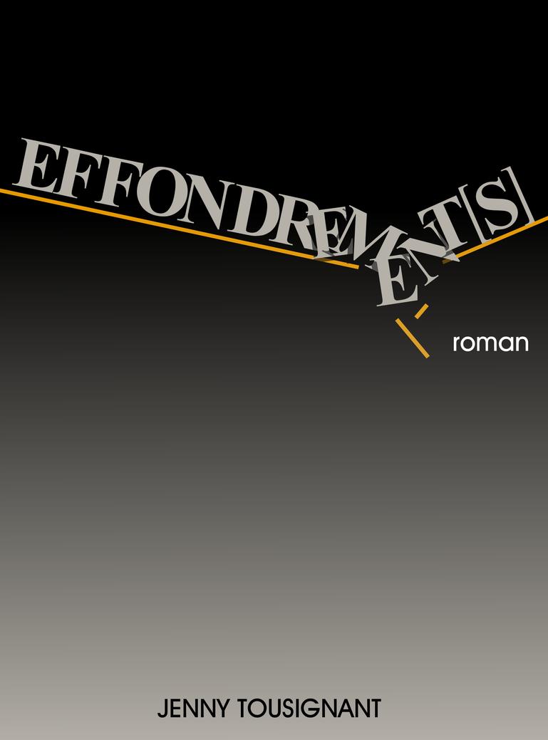 Effondrement[s]  Cover 3 by stefanparis