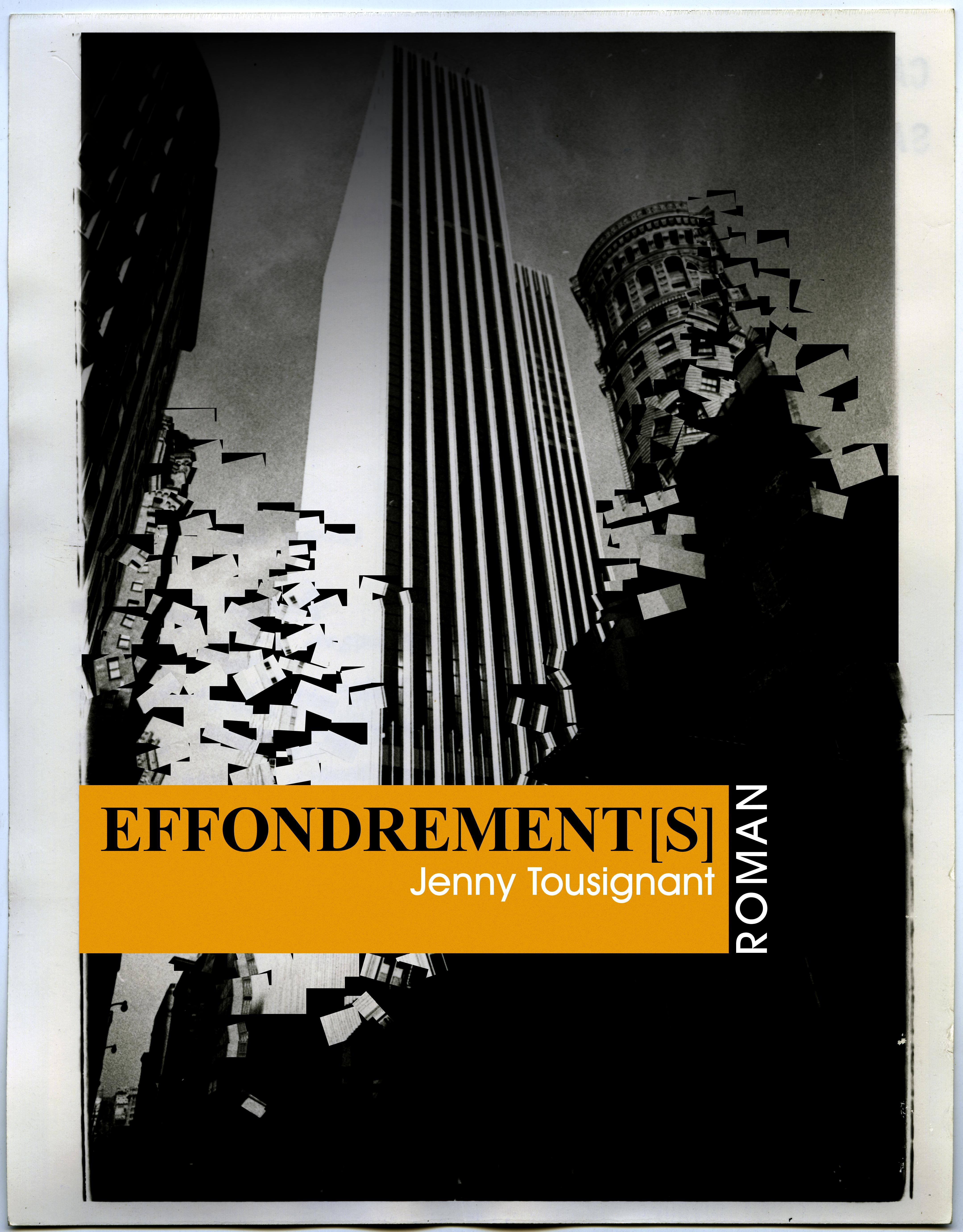 Effondrement[s] Cover 1 by stefanparis