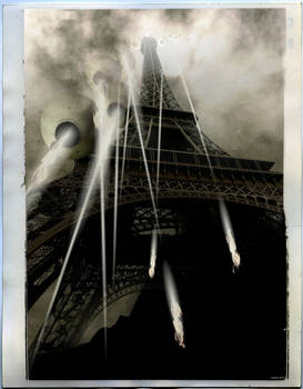 Dark Day for the City of Lights
