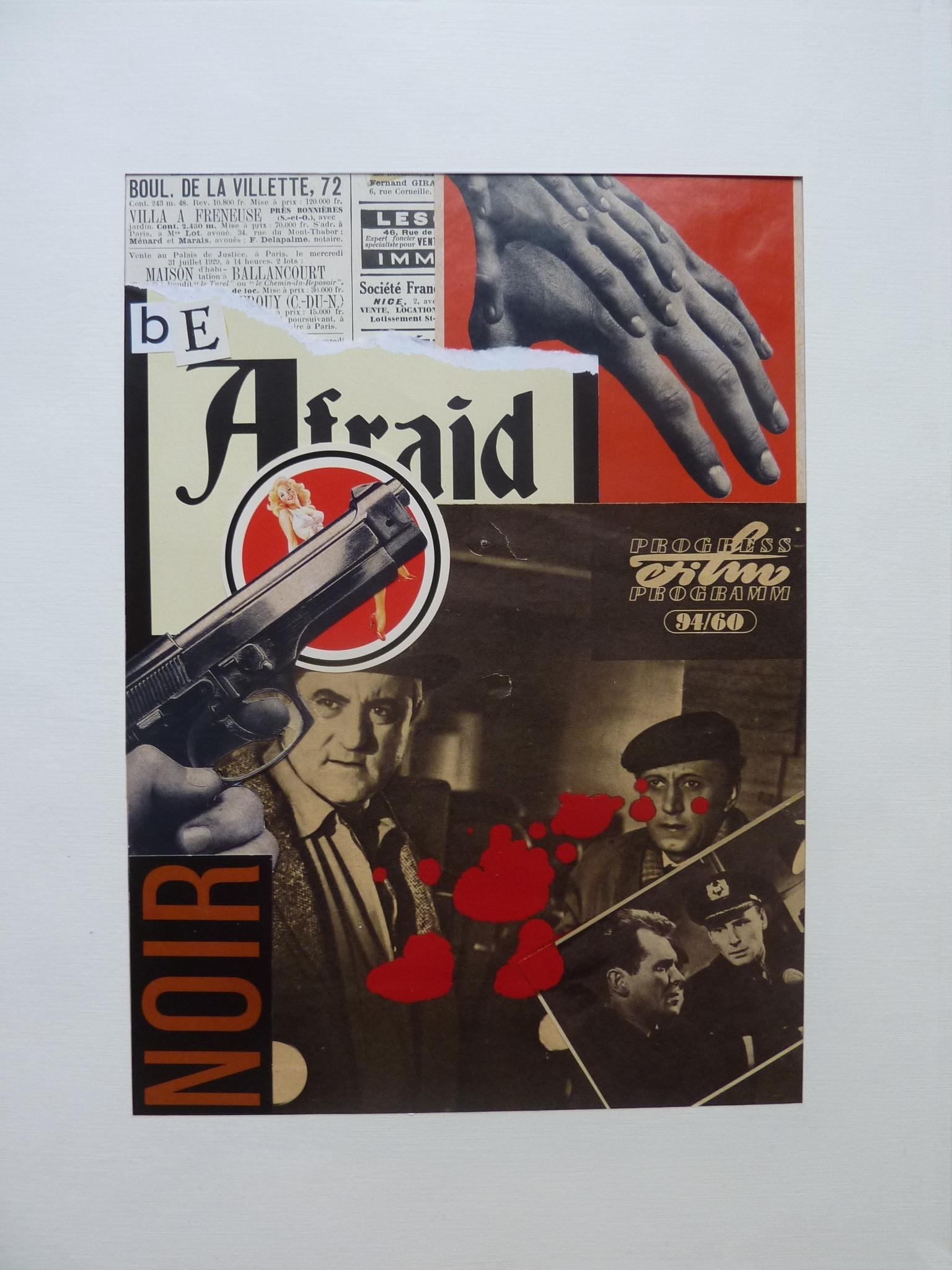 Be Afraid - Noir by stefanparis