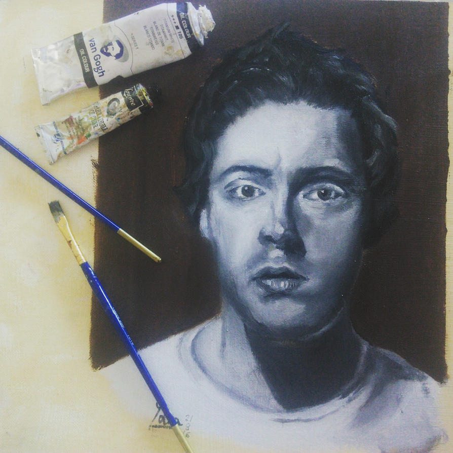 First portrait by yarartist
