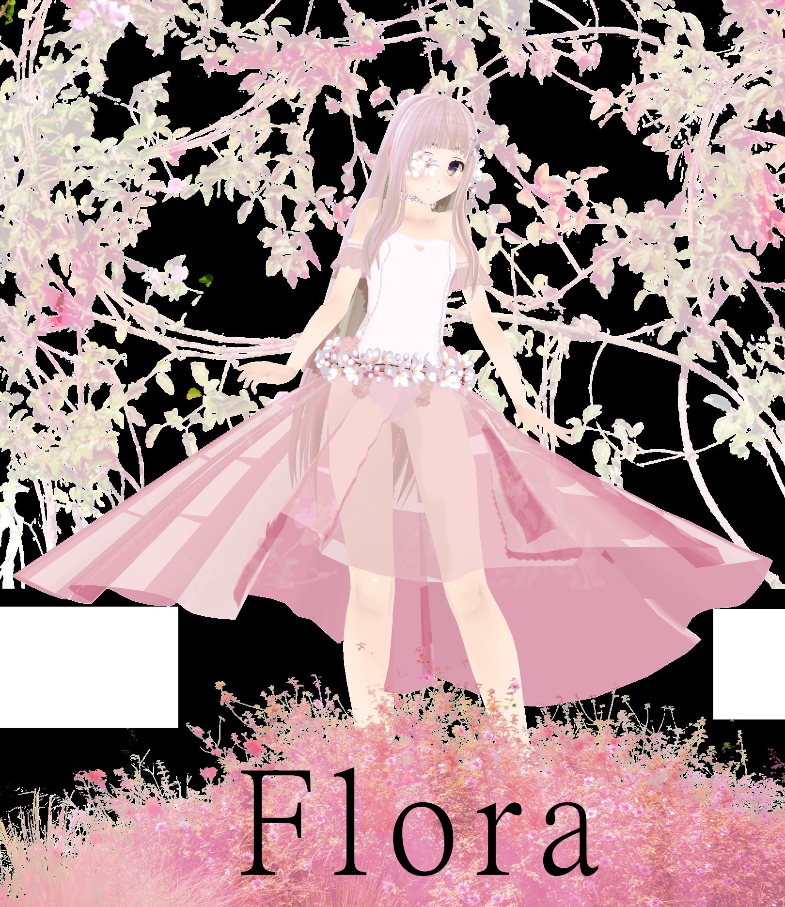 Flora Model Dl By Thos-beans On DeviantArt