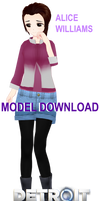 [mmd/D:BH] Alice model dl by thos-beans