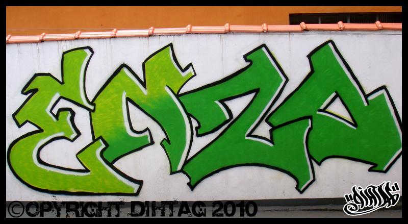 ENZO graffiti by DihtagZ