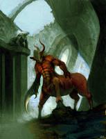 Hybrid Centaur by Niking