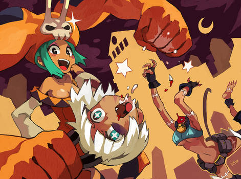 SkullGirls by Niking