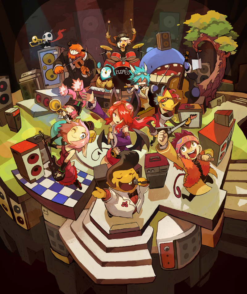 12 Tails Party by Niking