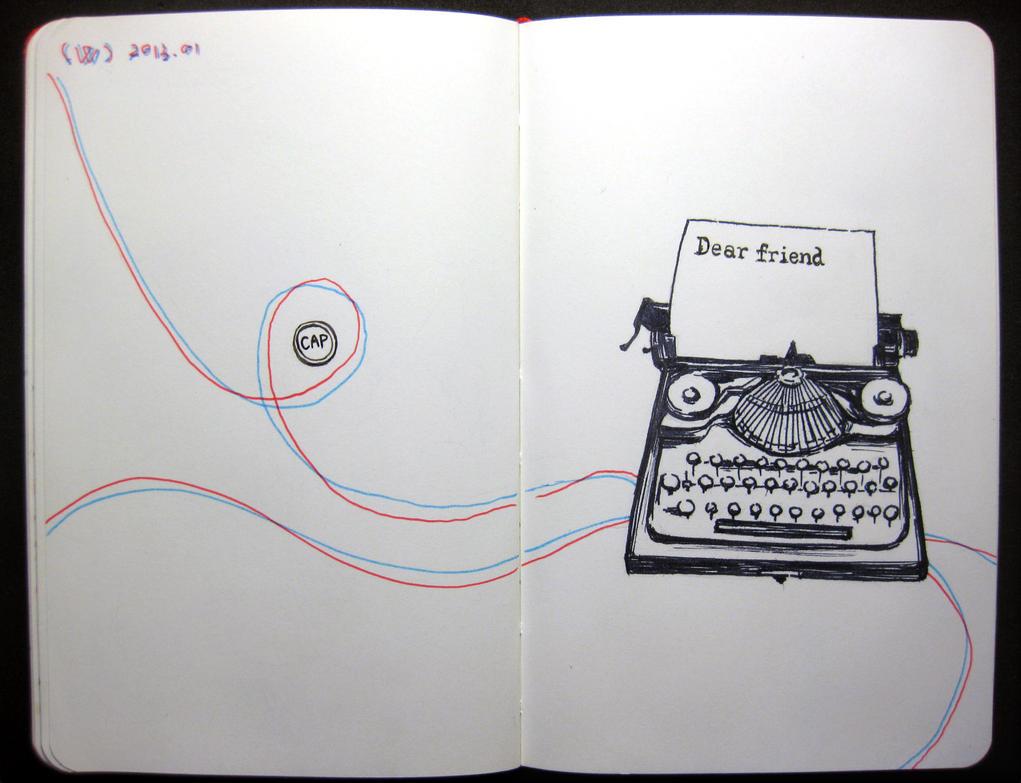 Dear Friend by wwei