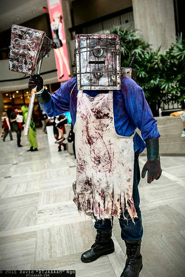 The evil within the keeper cosplay by LindsayRichardson