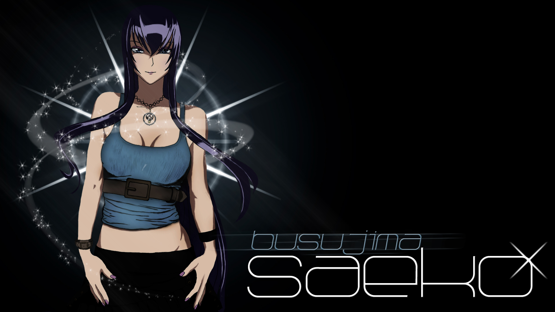 Saeko Busujima Sweet H O T D Wallpaper By Ur 31 On Deviantart