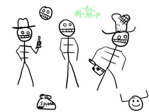 West of Loathing doodles1
