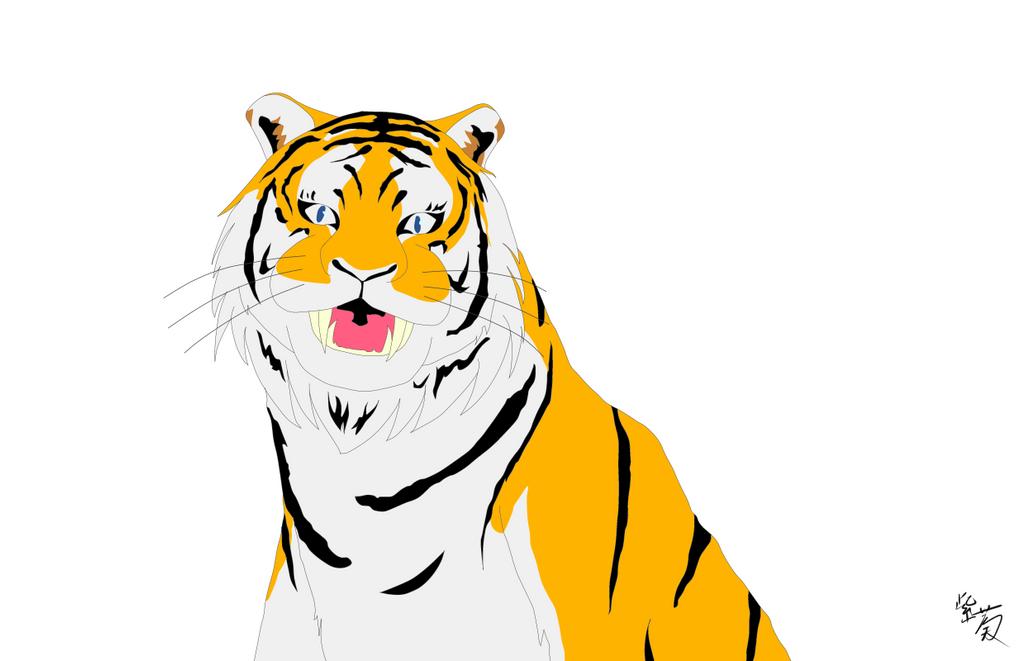 Tiger by suoushiki