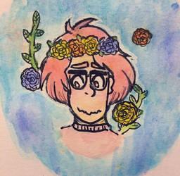 flower boi by ophidiaa