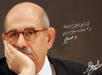 Mohamed ElBaradei by saYcoStuDiOz