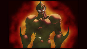 Guyver 2 emerging from shadows by tremault5