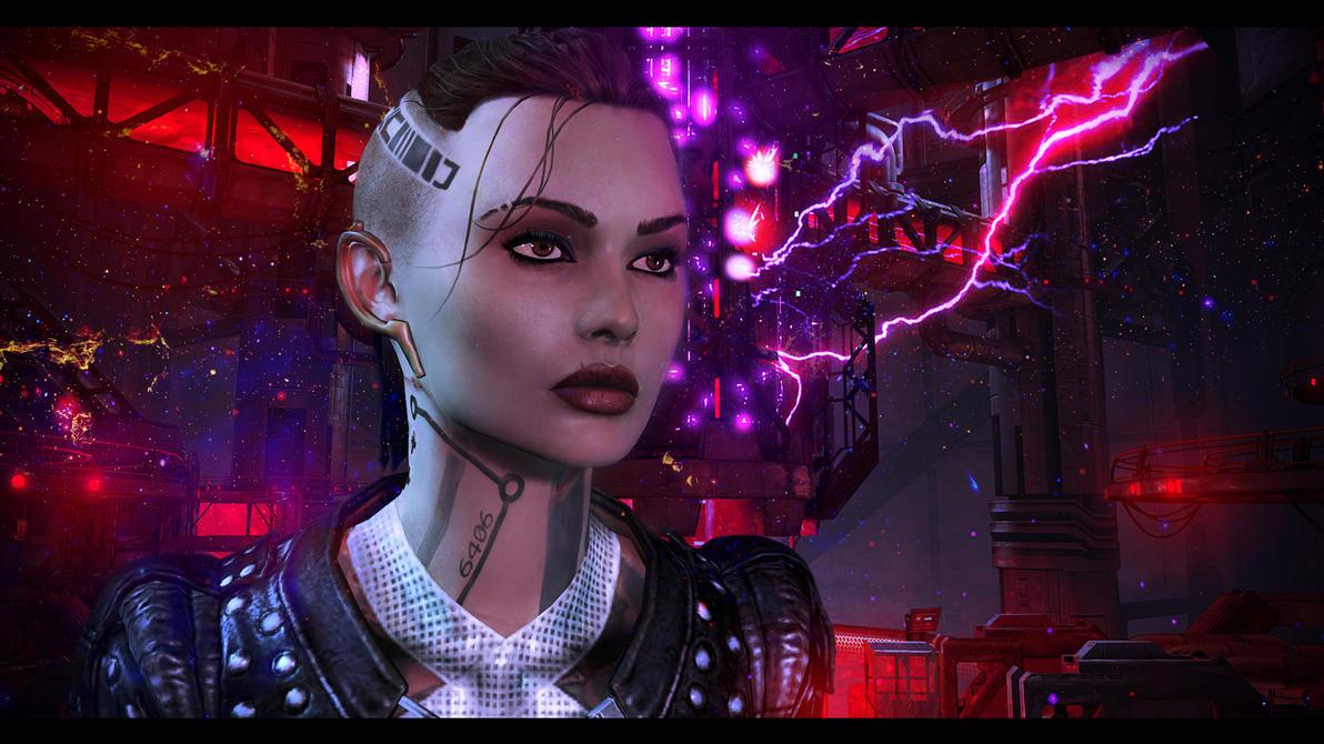 Mass Effect 3 Jack by AgataFoxxx
