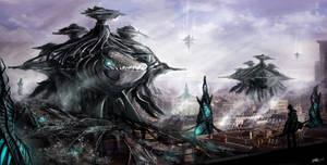 Alien Invasion by zicboy