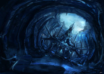 Environment_cave by zicboy