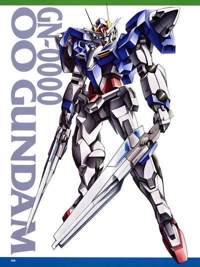 00 gundam ID by Balder8472