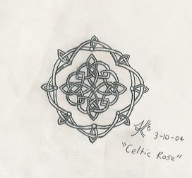 Celtic Rose by Abadoss
