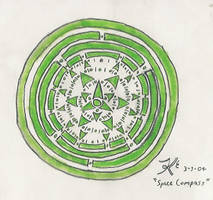 Space Compass by Abadoss