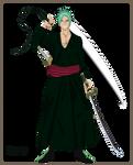 Zoro - Ichigo Potara Fusion