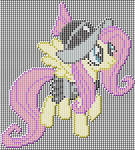 Fluttershy (Private Pansy) Pixel art design for MC
