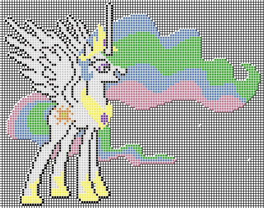 Princess Celestia Pixel Art Design For Mc By Xxchippy13xx On