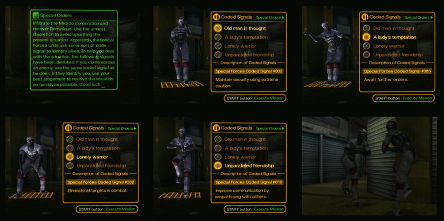 The Bouncer - MSF Code Signals by Distant-Rain on DeviantArt