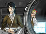 Admirer-KotOR2 Mical and Exile