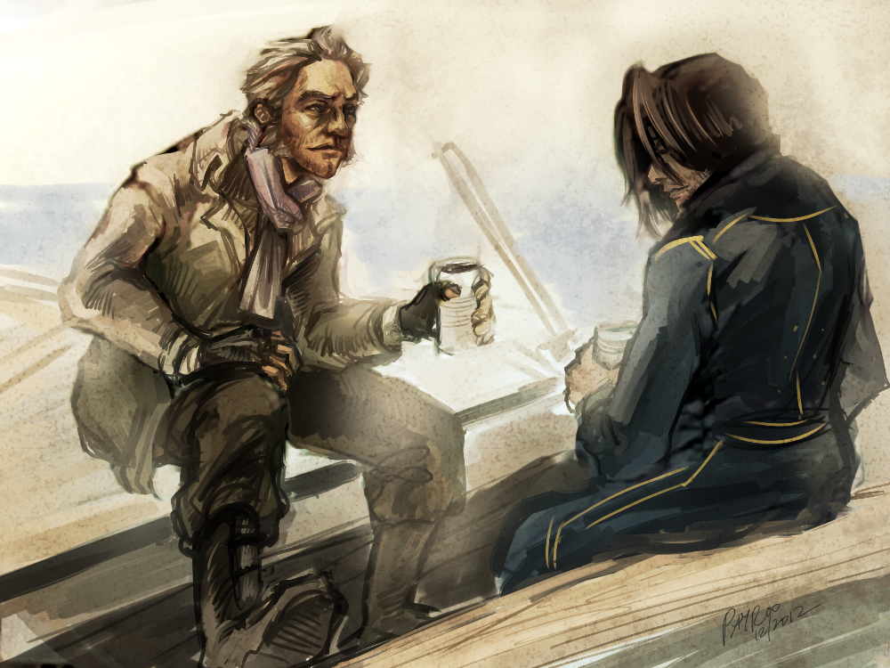 Death and the boatman  dishonored  by payroo d5pj552
