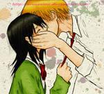 Kaichou wa maid-sama KISS :* (colored)