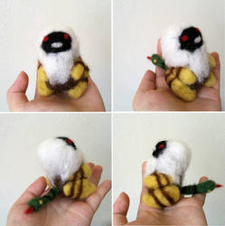 Nue - Needle Felted by whatonearth
