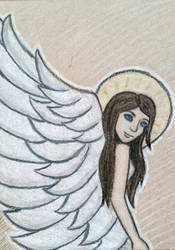 Angel ATC by whatonearth