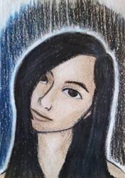 Self Portrait ATC by whatonearth