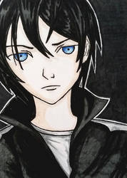 Yato from Noragami by whatonearth