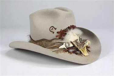Charlie 1 Horse Rattlesnake Cowboy Hat by Mekican